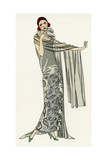 Young Lady in Evening Gown by Paul Poiret