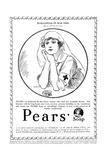 Pears' Soap Advertisement  Red Cross Nurse  WW1