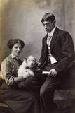 Couple with Terrier