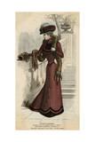 Plum Coloured Dress 1899