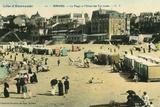 France  Dinard Beach 1905