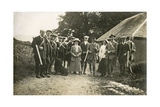 A Hunting Party C1900