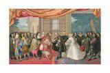 Louis XIV and Felipe Iv