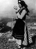 Greek Spinning Girl