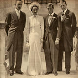 Duke of Windsor Marries Wallis Simpson in France