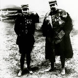 WW1 - Lieu Guynemer and Capitaine Brocard after 5th Victory