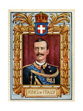 King of Italy  Stamp
