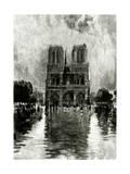 Paris  France - Notre-Dame