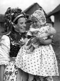 Slovak Mother and Child