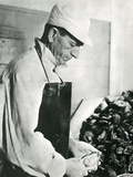 Opening Oysters 1930s