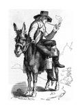 Schiller on a Donkey
