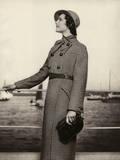 Full Length Tweed Coat 1935