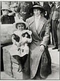 Little Girl Rescued from the 'Lusitania' 1915