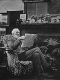 Sir Hugh Bell in Gertrude's Sitting Room - Baghdad  Iraq