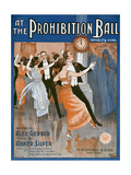 Prohibition Ball 1918
