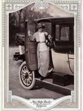 Billie Burke  1913 Car