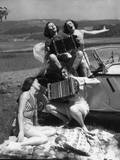 Accordion Picnic Girls