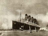Cunard Liner Lusitania 1915