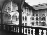 Krakow Castle Arcades