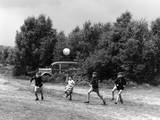 Scouts Playing Football