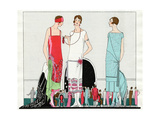 Three Dresses by Beer  Premet and Martial Et Armand