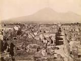 View across Pompeii