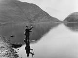 Angling at Llyn Dinas