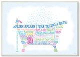 Splish Splash Bath Typography