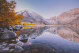 Morning Reflections in Autumn at Convict Lake