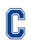 Varsity Letter C Make Your Own Banner Sign Poster