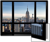 Window View  Special Series  Empire State Building  Manhattan  New York  United States