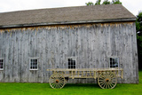 Quaker Barn Photo Print Poster