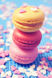 Some Appetizing Macarons of Different Flavors