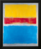 Untitled (Yellow  Red and Blue)