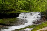 White Waterfall Photo Print Poster