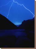 Lightning Strike  Grand Canyon