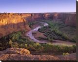 Tsegi Overlook  Canyon de Chelly National Monument  Arizona