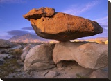 El Capitan and Balanced Rock  Guadalupe Mountains National Park  Texas