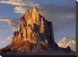 Shiprock  the basalt core of an extinct volcano  New Mexico