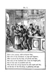 Cruikshank  the Gin Shop  Plate 7