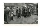 Queen Victoria's Coffin at Paddington Station