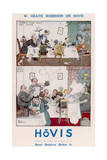 Heath Robinson Hovis Advertisement