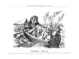 Spithead Review Cartoon 1897