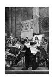 Death of St Genevieve