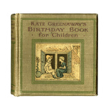 Cover Design  Kate Greenaway's Birthday Book for Children