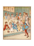 Nursery  Rhyme  the Queen of Hearts  Caldecott  7 of 8