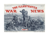 Illustrated War News Front Cover  Attacking Infantrymen
