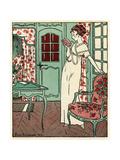 Women Reading a Book 1912