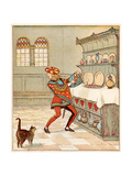 Nursery  Rhyme  the Queen of Hearts  Caldecott  3 of 8