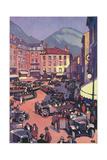 Grenoble, France Giclée par Roger Broders